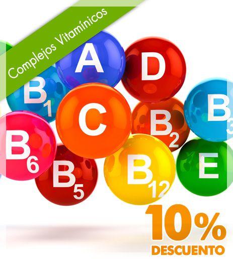 10% de descuento en complejos vitamínicos