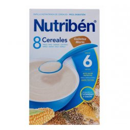 Nutriben 8 Cereales Galleta Maria 300g