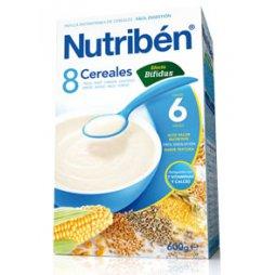 Nutriben Papilla 8 Cereales Efecto Bifidus 600gr