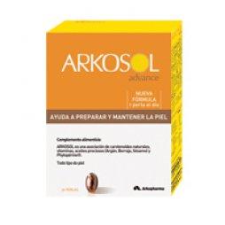 Arkosol Activador Bronceado 30 Perlas