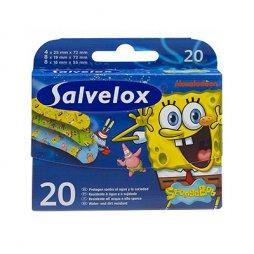 Salvelox Bob Esponja 20 uds