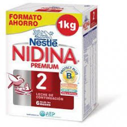 Nidina 2 Premium 1 Kilo (2X500gr + Cuchara)