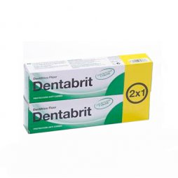 Dentabrit Fluor 125ml 2X1