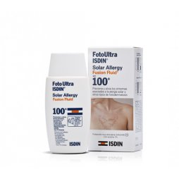 Foto Ultra Isdin Solar Allergy Fusion Fluid SPF100 50ml