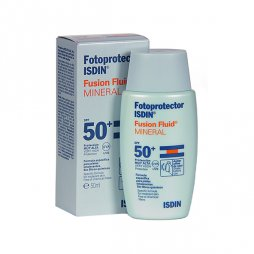 Fotoprotector Isdin Fusion Fluido Mineral SPF50+ 50ml