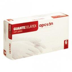 Aposan Guante Latex Grande 100 uds