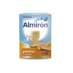 Almiron Advance Galletitas 6 Cereales+6M 180g
