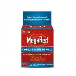 Megared Omega3 Aceite De Krill 60 Capsulas