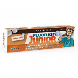 Flúor Kin Junior Pasta Cola 75ml