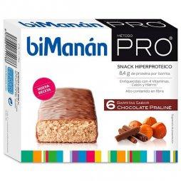 Bimanan Pro Chocolate Praline 6 Barritas