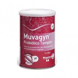 Muvagyn Probiótico Tampón Regular Con Aplicador 9uds