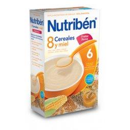 Nutriben Papilla 8 C/Miel Frutos Secos 600g