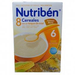 Nutriben Papilla 8 Cereales Miel G.Maria 300g