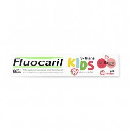Fluocaril Dentífrico Kids Gel Fresa 50ml