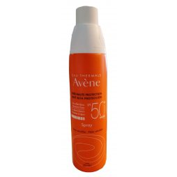 Avene Spray 200ml Spf 50+ regalo gel de baño 100ml