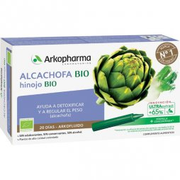 Arko Alcachofa-Hinojo BIO 20 Ampollas