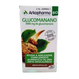 Arkocaps Glucomanano 50 Cápsulas