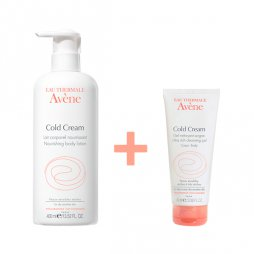 Avene Leche Cold Cream 400ml+Gel 100ml