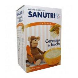 Sanutri  Papilla Cereales inicio S/Gluten 600g