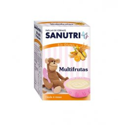 Sanutri  Papilla Multifrutas S/Gluten 300g