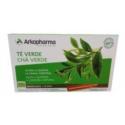 Arkofluido Té Verde 10 Ampollas 15ml