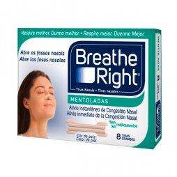 Breathe Right Mentol 8 Tiras Grande