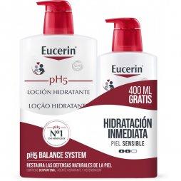 Eucerin Locion 1 L.+Ecopack 400ml