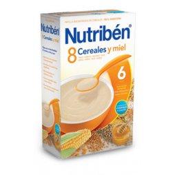 Nutriben Papilla 8 Cereales Miel 300gr.