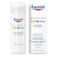 Eucerin Q10 Crema dia Piel Normal /Mixta Antiarrugas 50ml