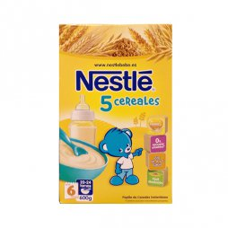 Nestle 5 Cereales 600g