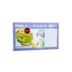 Dieta de la  Alcachofa y Té Verde en Ampollas