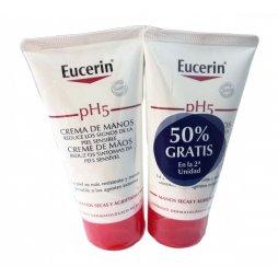 Eucerin  Crema Manos Duplo 75ml