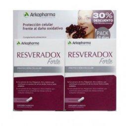 Resveradox Forte Pack 2X30 Cap+ Pastillero