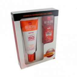 Heliocare spray SPF50+ 200ml + Heliocare XF gel SPF50+ 50ml