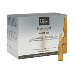 Martiderm Photo-Age 30 ampollas + 10 ampollas Platinum night renew