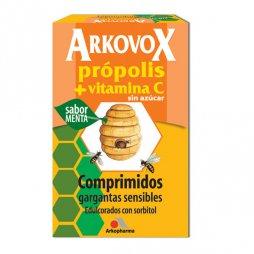Arkovox Própolis y Vitamina C sabor Menta 20comp.