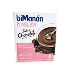 Bimanan Beslim sabor chocolate  6ud