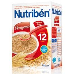 Nutriben Desayuno Copos Trigo 750g