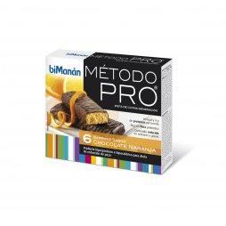 Bimanan Pro Chocolate-Naranja 6uds