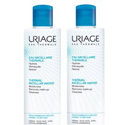Uriage Agua Micelar Piel Normal/Seca Pack 2X500ml