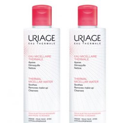 Uriage Agua Micelar Piel con Rojeces Pack 2X500ml