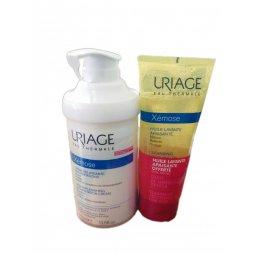 Uriage Xemose Crema Emoliente 400ml + Gel Limpiador