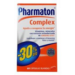 Pharmaton Complex 60 Capsulas Blandas