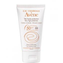Avene Crema SPF 50+ Pantalla Física 50ml