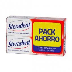 Steradent Crema Adhesiva  Pack Ahorro