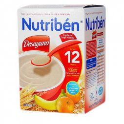 Nutriben Desayuno Trigo Frutas 600g