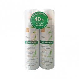 Klorane Pack Champ� Seco color natural Avena 2X150 ml