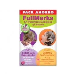Fullmarks Pack Loción 100ml+Champú 150ml+Lendrera