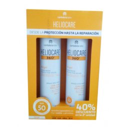 Heliocare 360º Airgel SPF50 2ª ud al 40%