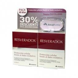 Resveradox Pack 2X30 Capsulas+Pastillero